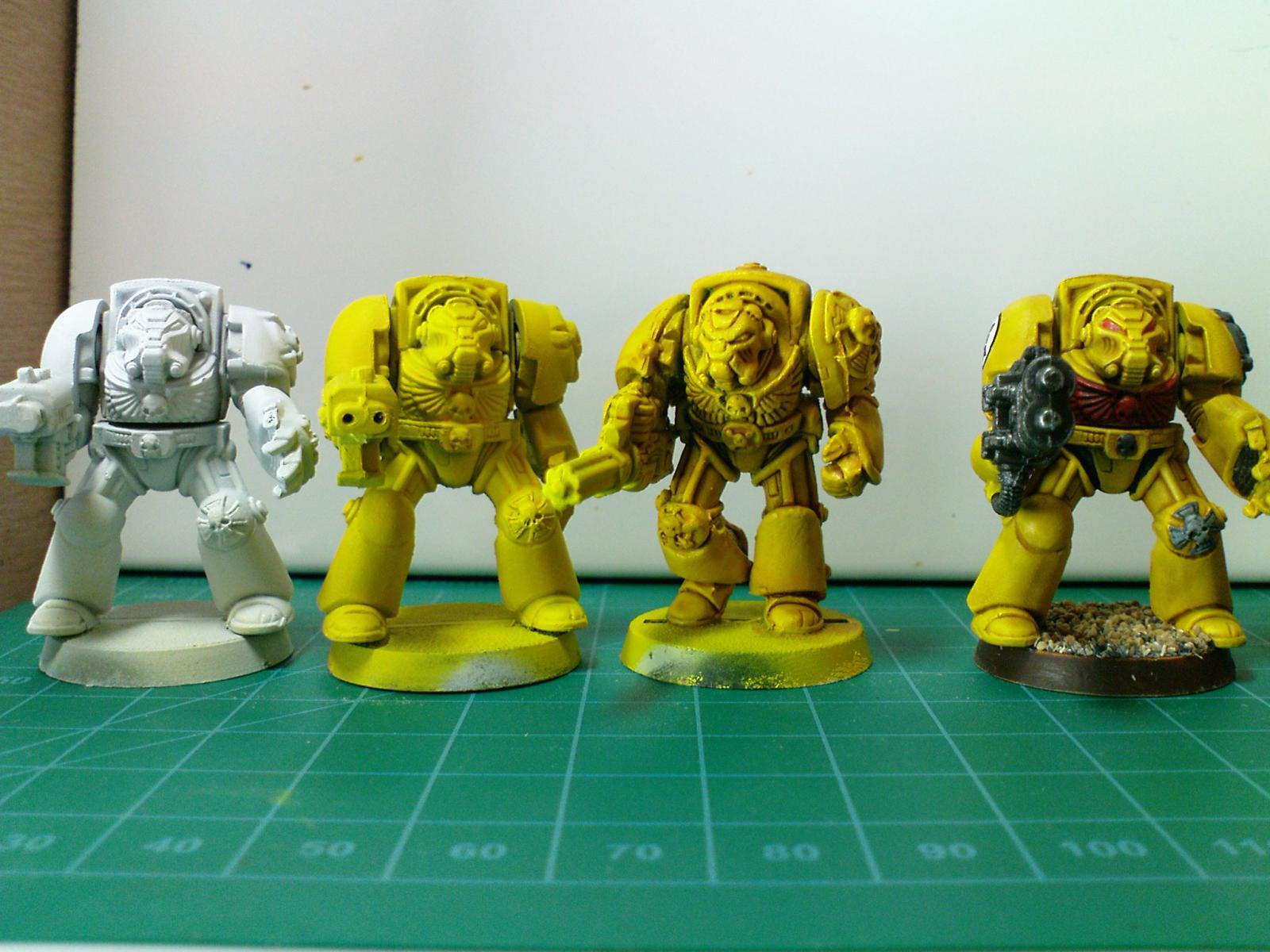 Imperial fists painting