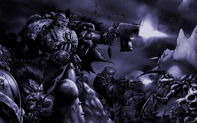Space Wolves Wallpaper Space Wolf Wallpaper SPACE WOLVES The Bolter and Chainsword