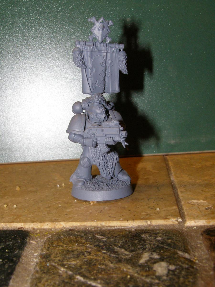 Space Wolves Banners Space Wolf Bann...