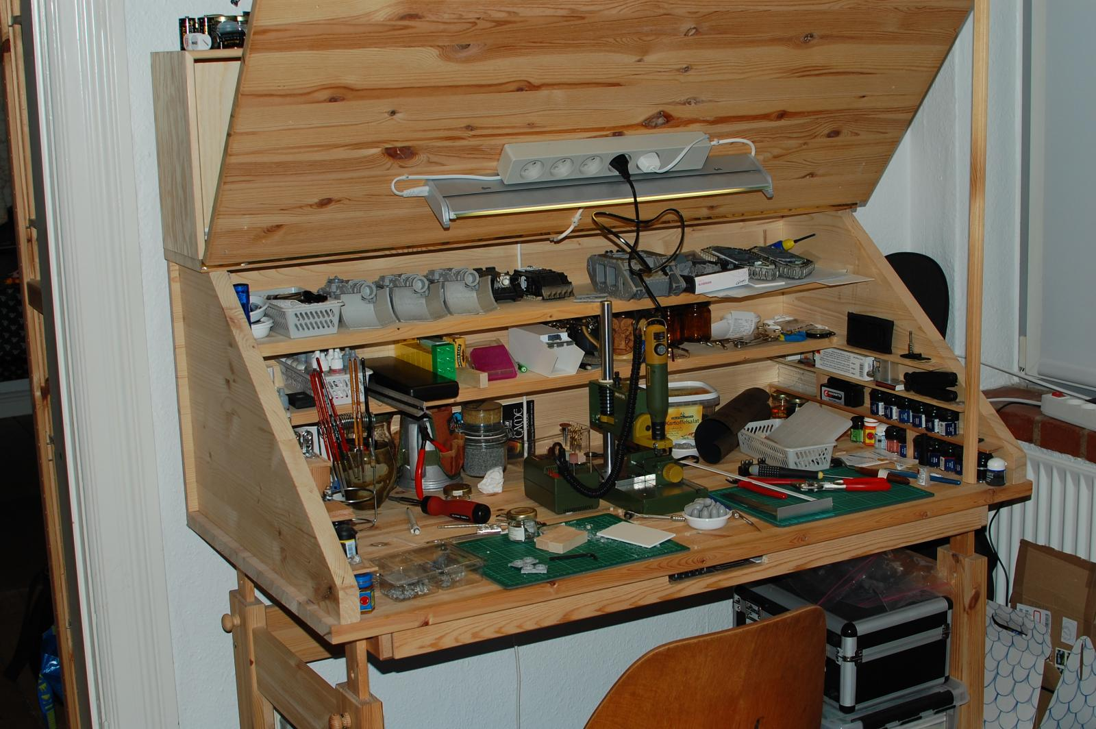 hobby desk ideas GENERAL PCA QUESTIONS The Bolter