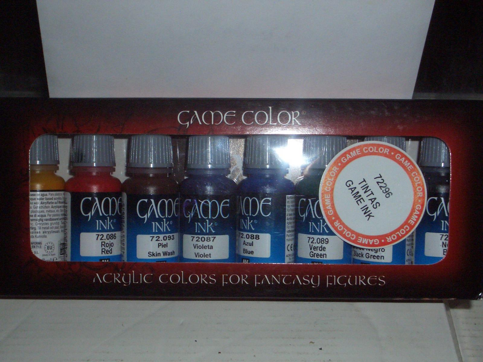 Game color vallejo - It Comprises 8 Colours In Dropper Bottles As Well As A Handy Colour Guide For The Vallejo Game Colour Range This Even Has A Comparison Chart For Old Gw